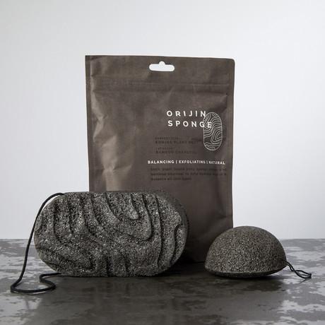 ORIJIN SPONGE // Bamboo Charcoal Infusion Kit