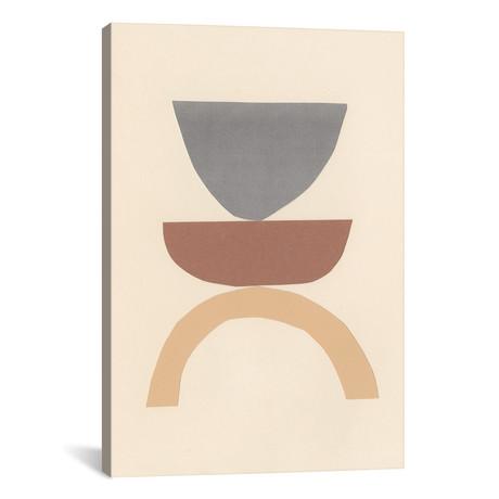 "Neutral Sculpt I // Renée Stramel (12""W x 18""H x 0.75""D)"