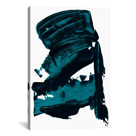 "Blue Dreams // Albina Bratcheva (12""W x 18""H x 0.75""D)"