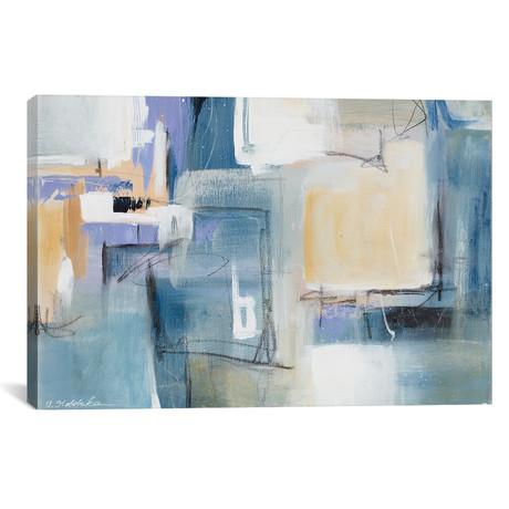 "Blue Memory // Ulyana Stebelska (18""W x 12""H x 0.75""D)"