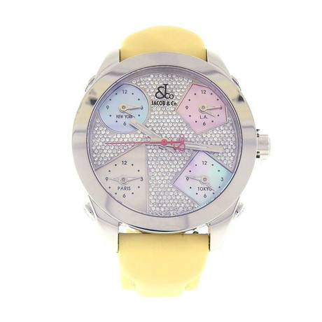 Jacob & Co. Five Time Zone Quartz // JCM44