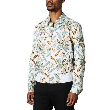 Jacket Printed // White Multicolor (Euro: 46)