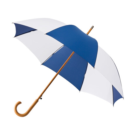 Falcone Golf Umbrella // Blue + White