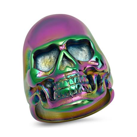Stainless Steel Skull Ring // Multicolor (9)