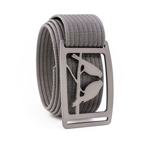 Kestrel Gunmetal Belt // Gray (28)