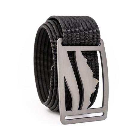 Wasatch Gunmetal Belt // Black (28)