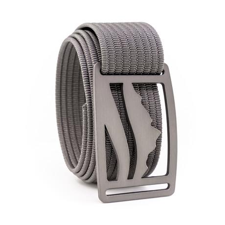 Wasatch Gunmetal Belt // Gray (28)