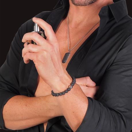 Pheromone Necklace + Bracelet + Rebel Cologne // Male Attract Female
