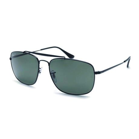 Ray-Ban // Men's Polarized Colonel Sunglasses // Black