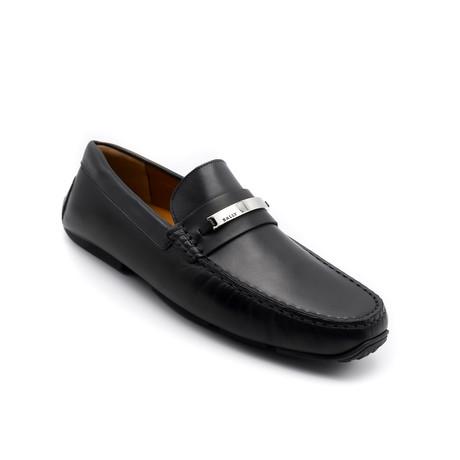 Men's Leather Driver Shoes V2 // Black (US: 7)