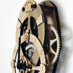 Vera Wooden Gear Wall Clock Kit