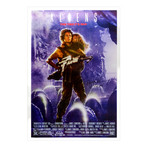 Sigourney Weaver // Aliens // Single-Sided Movie Poster