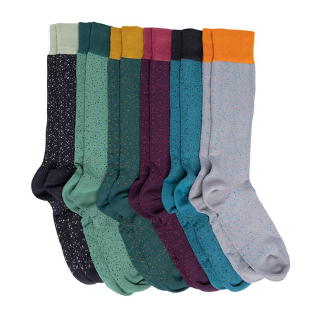 Newton Boardroom Socks // Pack of 6