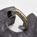 Knife Cuff Bracelet // Gold (S-M)