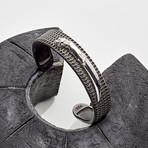 Knife Cuff Bracelet // Silver (M-L)