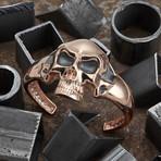 Big Skull Bracelet // Rose (M-L)