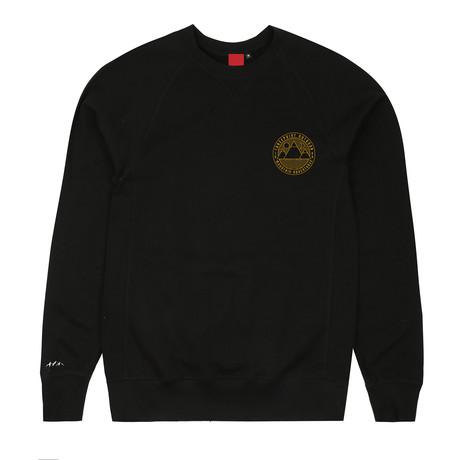 Mountain Adventures Crew Neck Sweater // Black (S)
