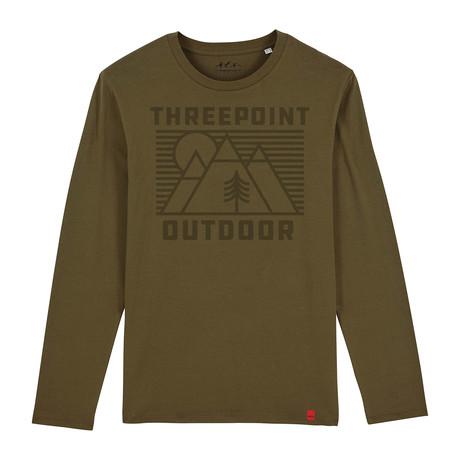 Outdoor Lines T-Shirt // Khaki (S)