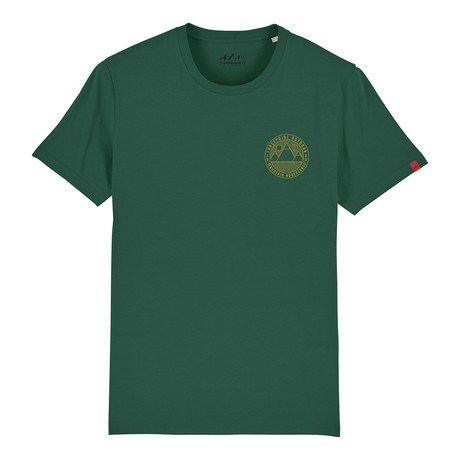 Mountain Adventures T-Shirt // Bottle Green (S)