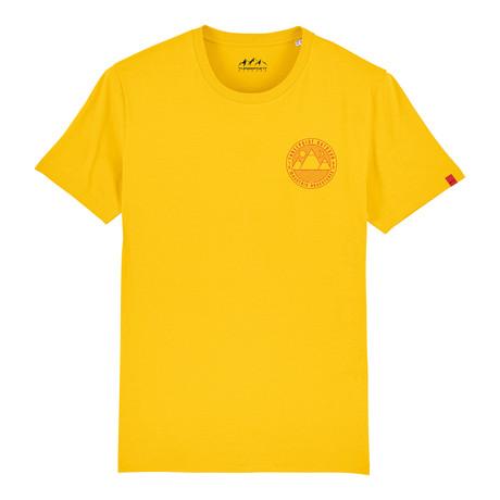Mountain Adventures T-Shirt // Spectra Yellow (S)