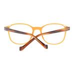 Men's Full-Rim Optical Frames // Orange