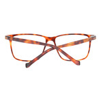 Men's Full-Rim Tortoiseshell Optical Frames // Orange