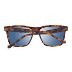 Men's Trapezium Square Sunglasses // Brown + Gray