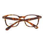 Men's Full-Rim Tortoiseshell Optical Frames // Brown