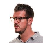 Men's Full-Rim Optical Frames // Brown + Black