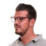 Men's Full-Rim Optical Frames // Brown + Blue