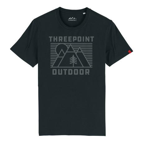 Outdoor Lines T-Shirt // Black (S)