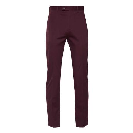 Downing Pant // Burgundy Twill (28WX32L)
