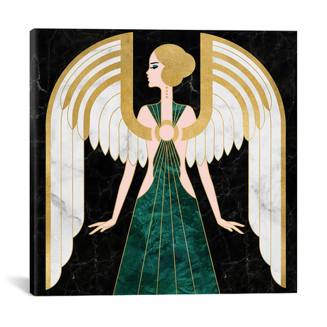 "Angel // WAAW STUDIO (12""W x 12""H x 0.75""D)"