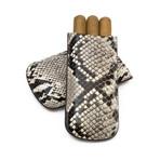 Genuine Python Cigar Case // Standard // Natural