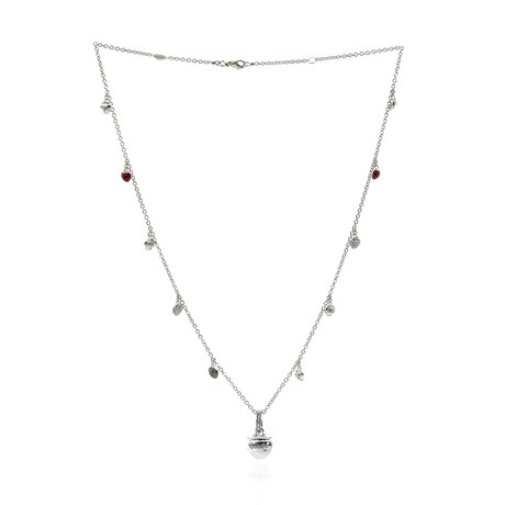 Piero Milano 18k White Gold Diamond Necklace II