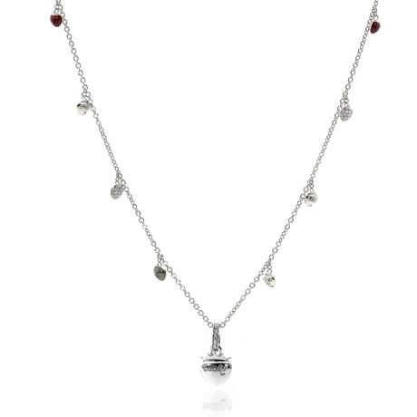 Piero Milano 18k White Gold Diamond Necklace II