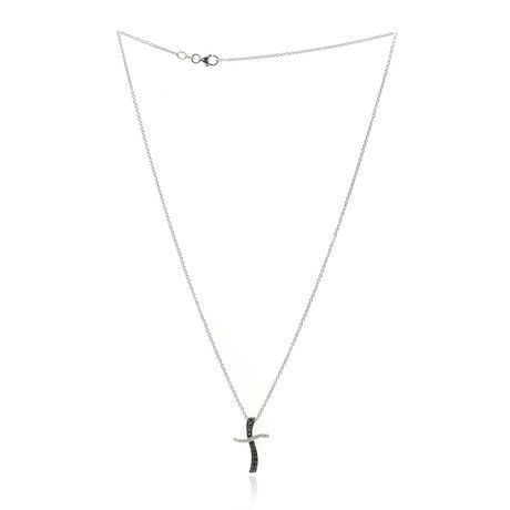 Piero Milano 18k White Gold Diamond Necklace IV