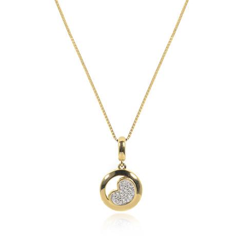 Piero Milano 18k Yellow Gold Diamond Necklace