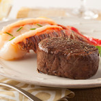 The Surf & Turf Gift Pack (Small // 4 6oz. Fillet Mignon & 4 4-5oz. Cold Water Lobster Tails)