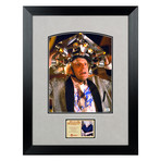 Framed + Autographed Photo // Christopher Lloyd