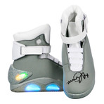 Autographed Back To The Future Ii Marty Mcfly Shoes // Michael J. Fox