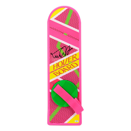 Autographed Back To The Future Ii 1:1 Scale Prop Replica Hoverboard // Michael J. Fox