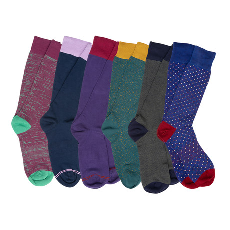 Barnum Boardroom Socks // Pack of 6