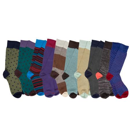 Hughes Boardroom Socks // Pack of 10
