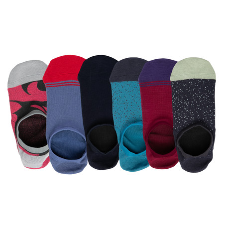 Bode No Show Socks // Pack of 6 (Small)