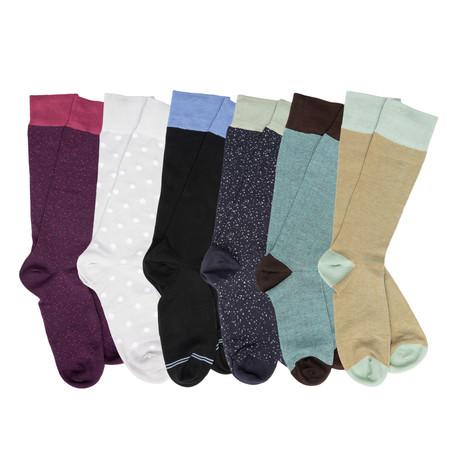 Graham Boardroom Socks // Pack of 6