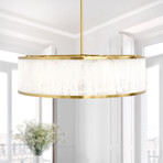 Gatsby Chandelier Light // Frosted