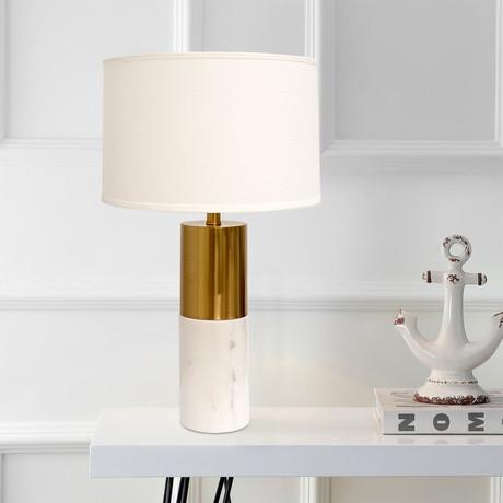 Rhoda Table Lamp // White