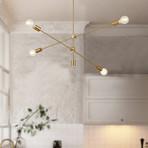 Elena Chandelier Light // Gold