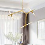 Silvia Chandelier Light // Gold